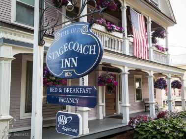 The Old Stagecoach Inn in Waterbury - highly recommended!