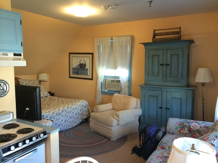 Our large room at the Old Stagecoach Inn.