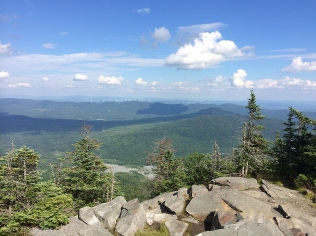 A view from the summit of Belvidere.